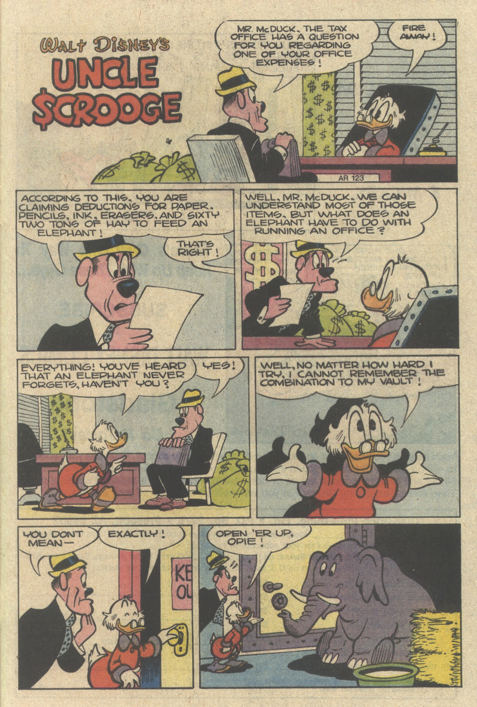 Uncle Scrooge (1953) Issue #229 #229 - English 25