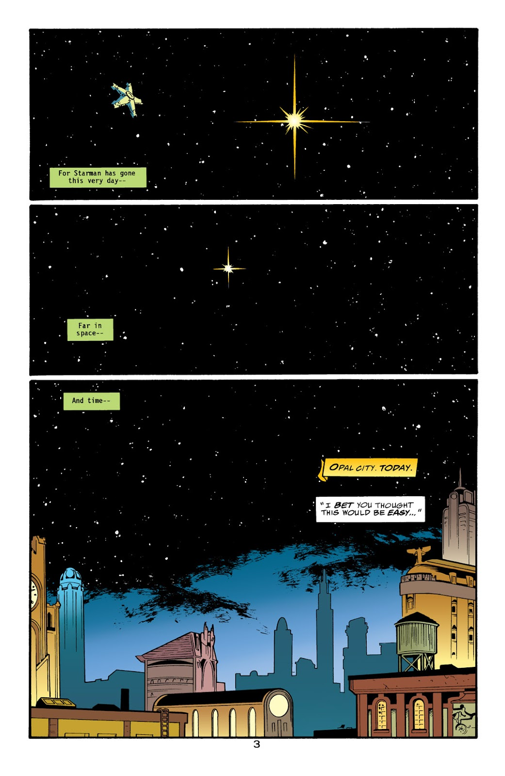 Starman (1994) Issue #1000000 #83 - English 4