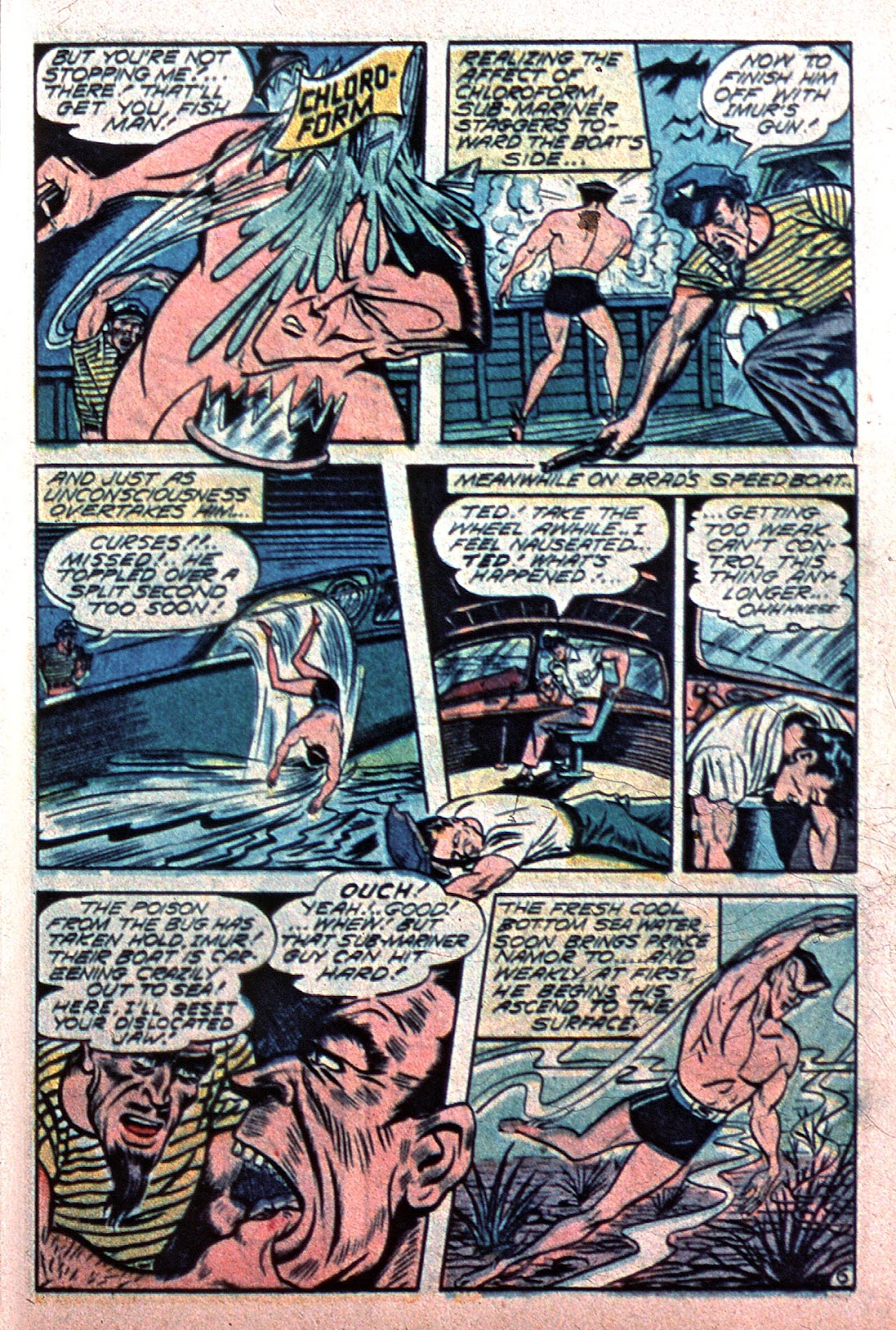 Sub-Mariner Comics Issue #15 #15 - English 35