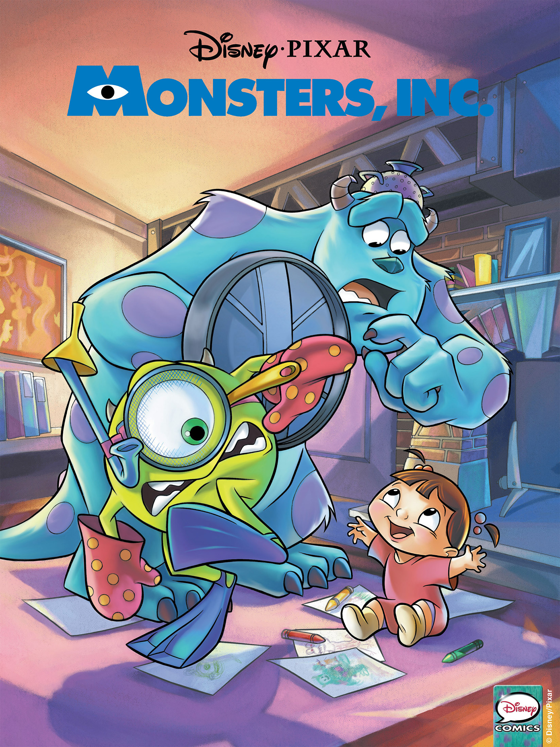 Monsters, Inc. issue Full - Page 1