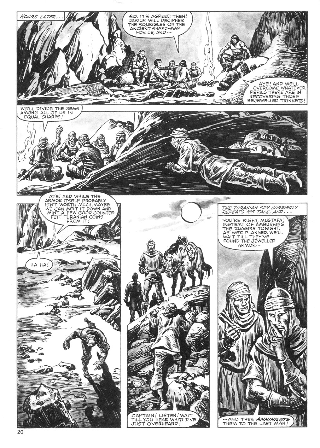 The Savage Sword Of Conan Issue #87 #88 - English 20
