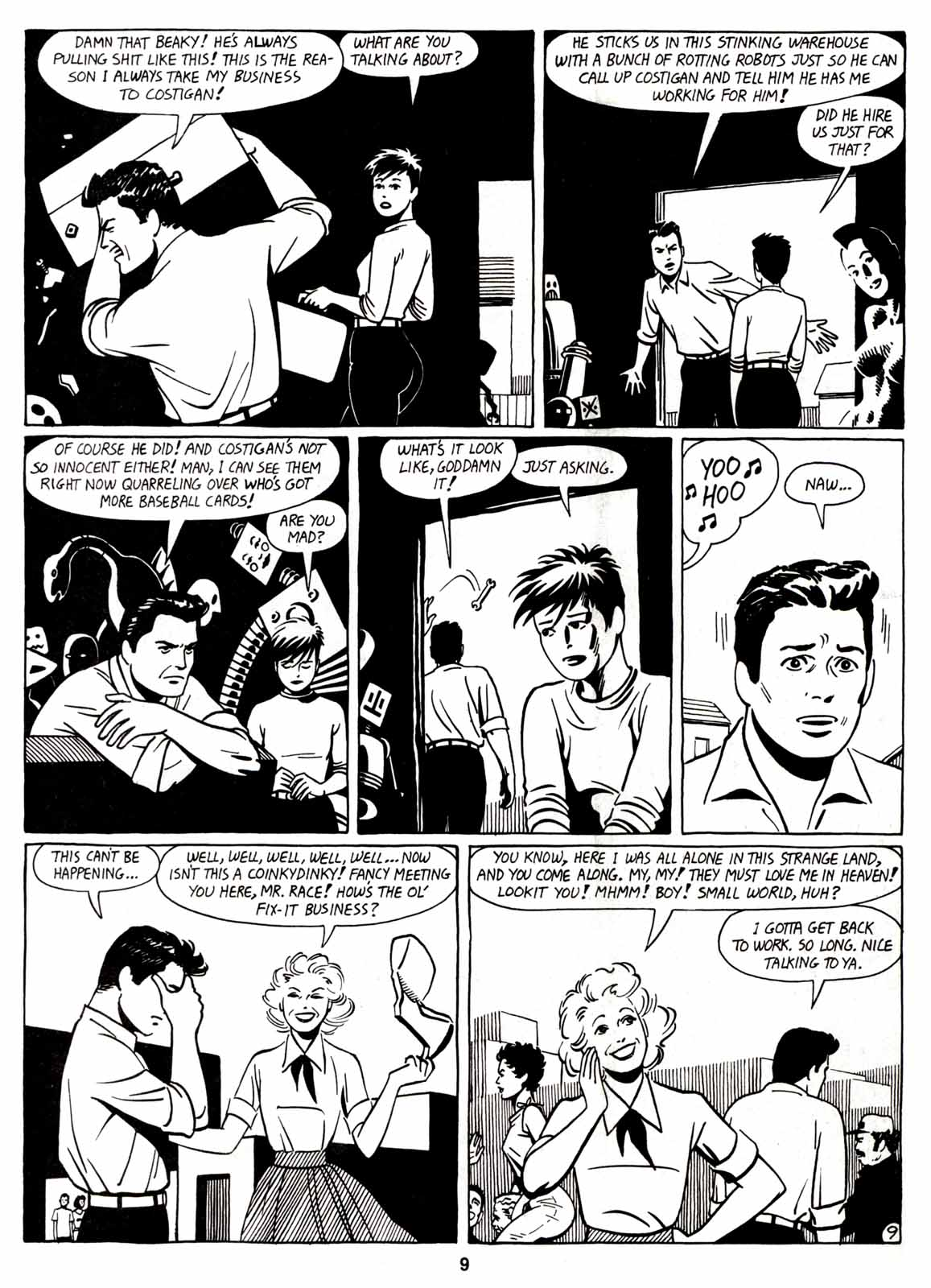 Love and Rockets (1982) Issue #7 #6 - English 11
