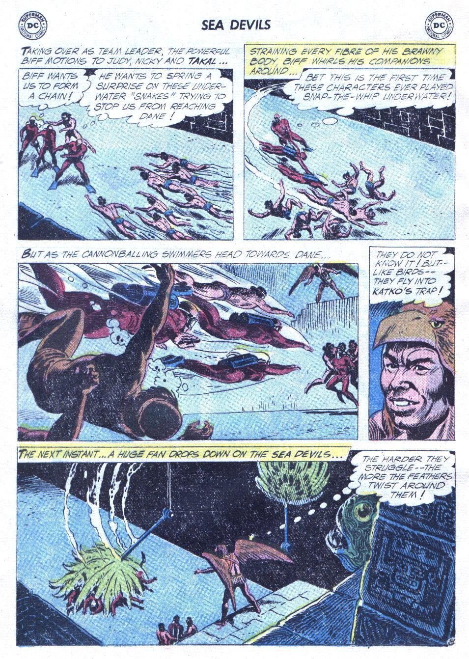 Read online Sea Devils comic -  Issue #4 - 29