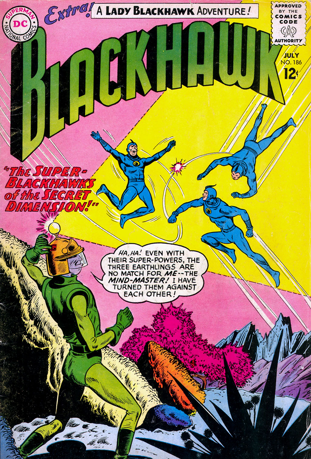 Blackhawk (1957) 186 Page 1