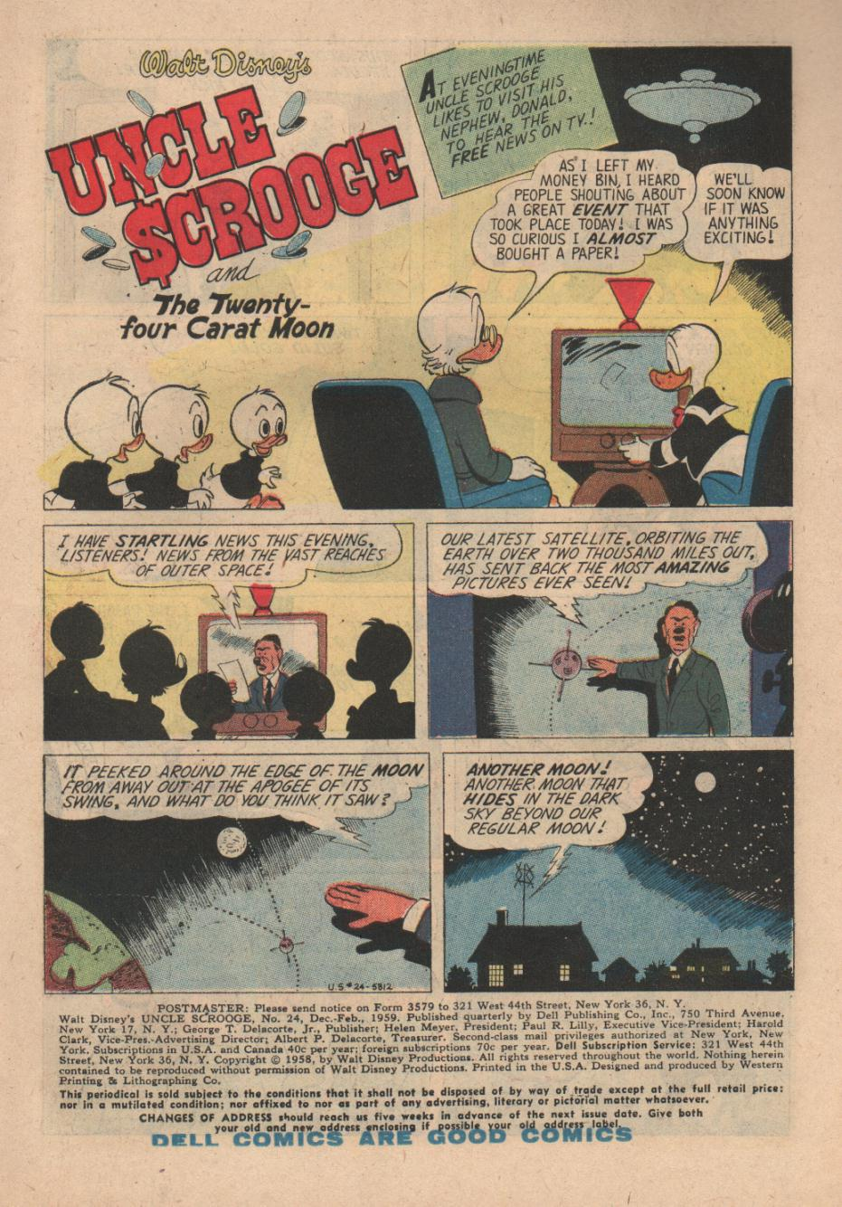 Uncle Scrooge (1953) Issue #24 #24 - English 3