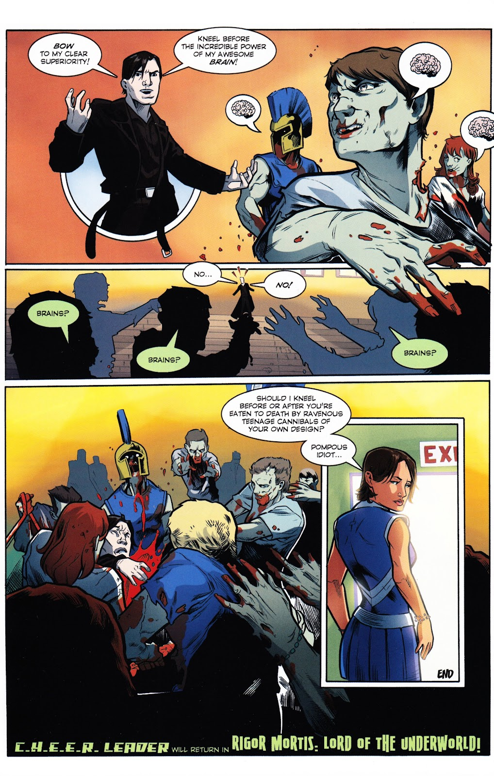 Zombies vs Cheerleaders Issue #2 Page 27