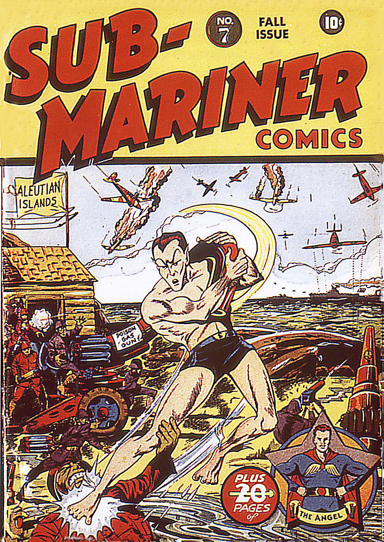 Sub-Mariner Comics 7 Page 1