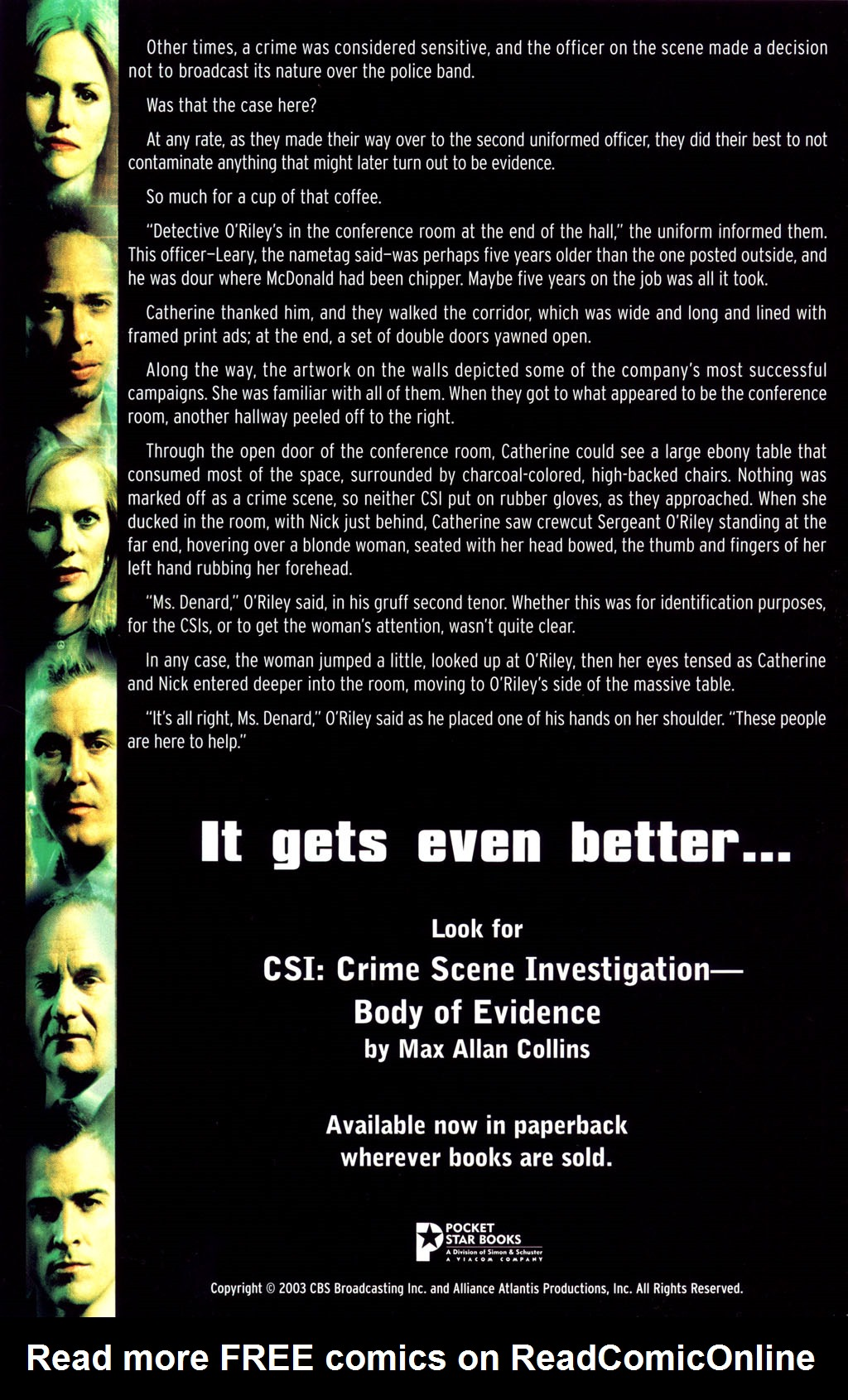 Read online CSI: Crime Scene Investigation: Bad Rap comic -  Issue #5 - 33