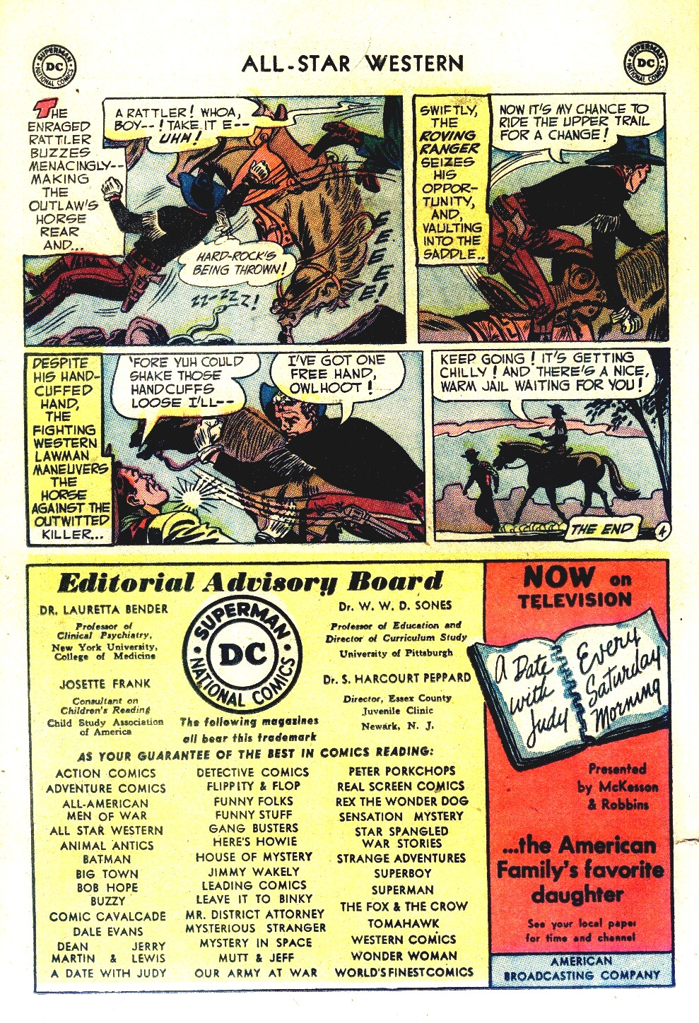 Read online All-Star Western (1951) comic -  Issue #66 - 22