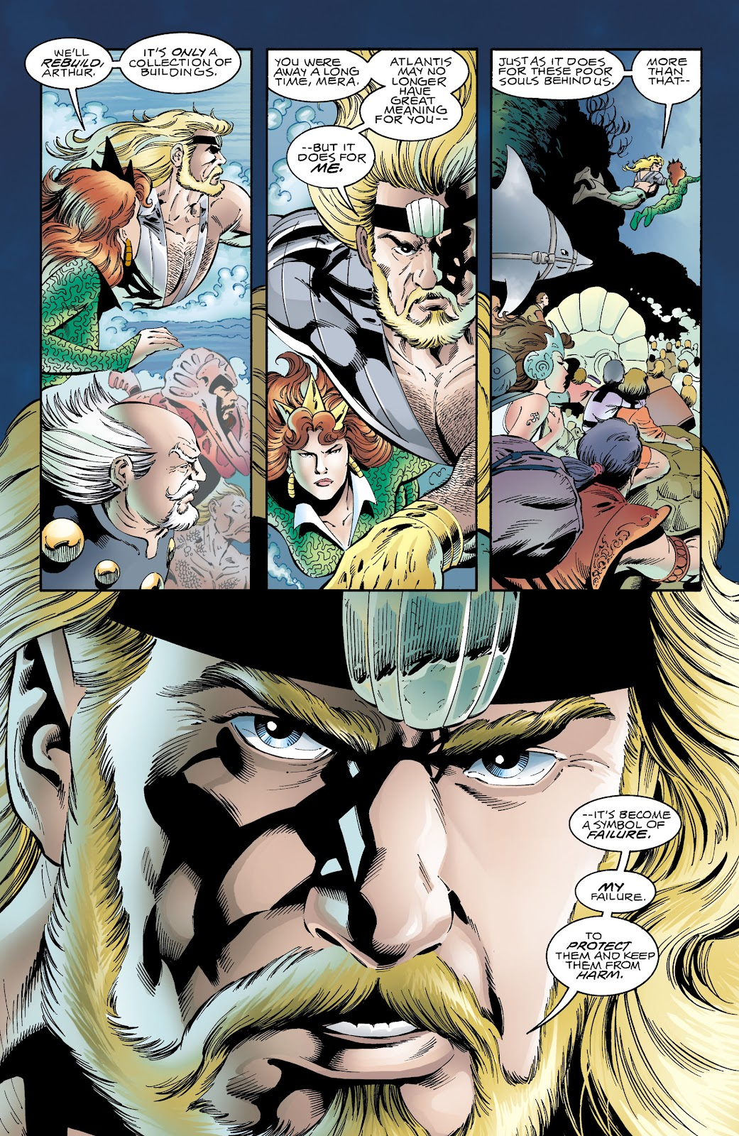 Aquaman (1994) Issue #65 #71 - English 10