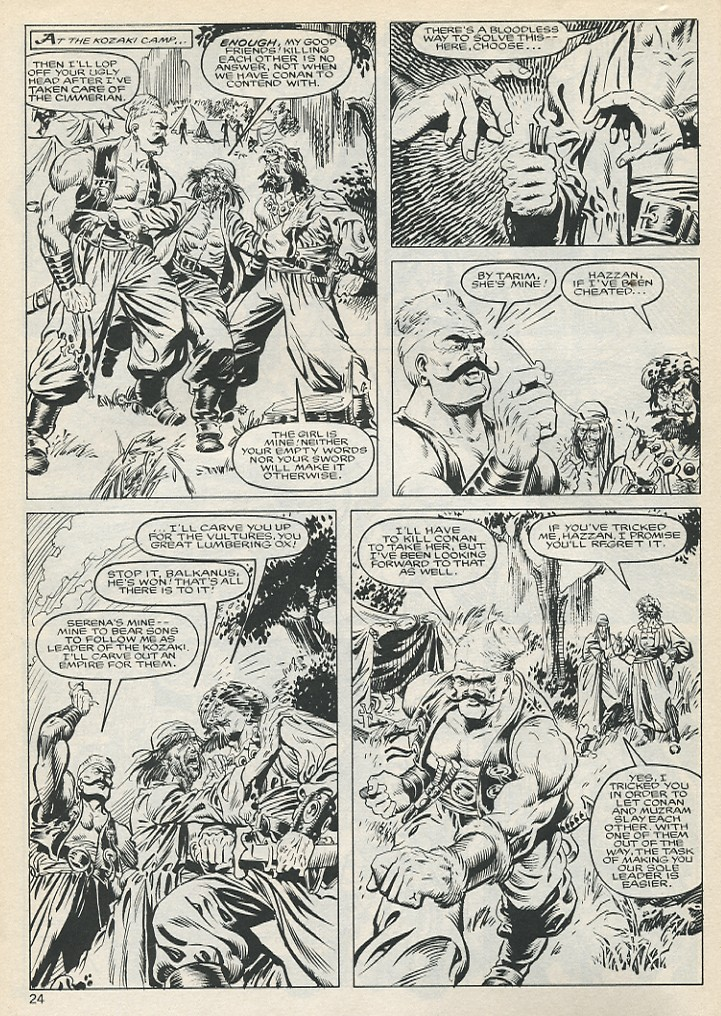 The Savage Sword Of Conan Issue #131 #132 - English 24
