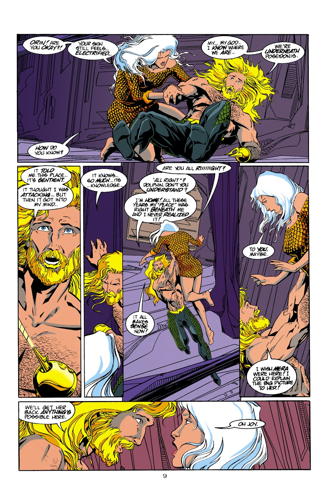 Aquaman (1994) Issue #15 #21 - English 10
