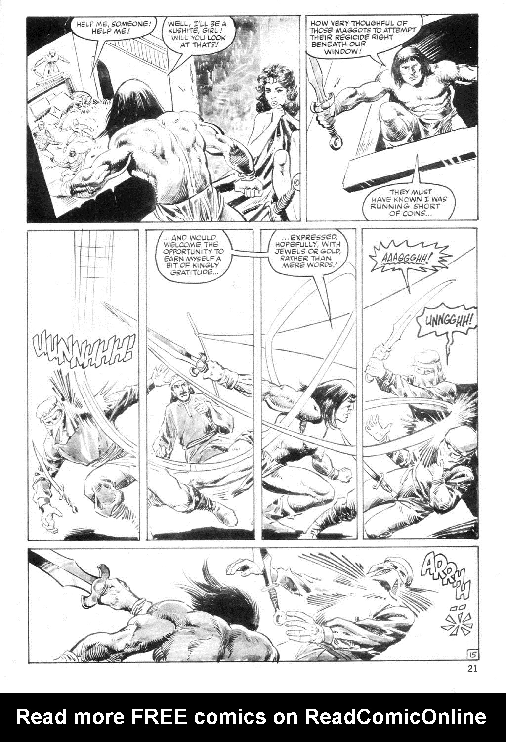 The Savage Sword Of Conan Issue #94 #95 - English 20