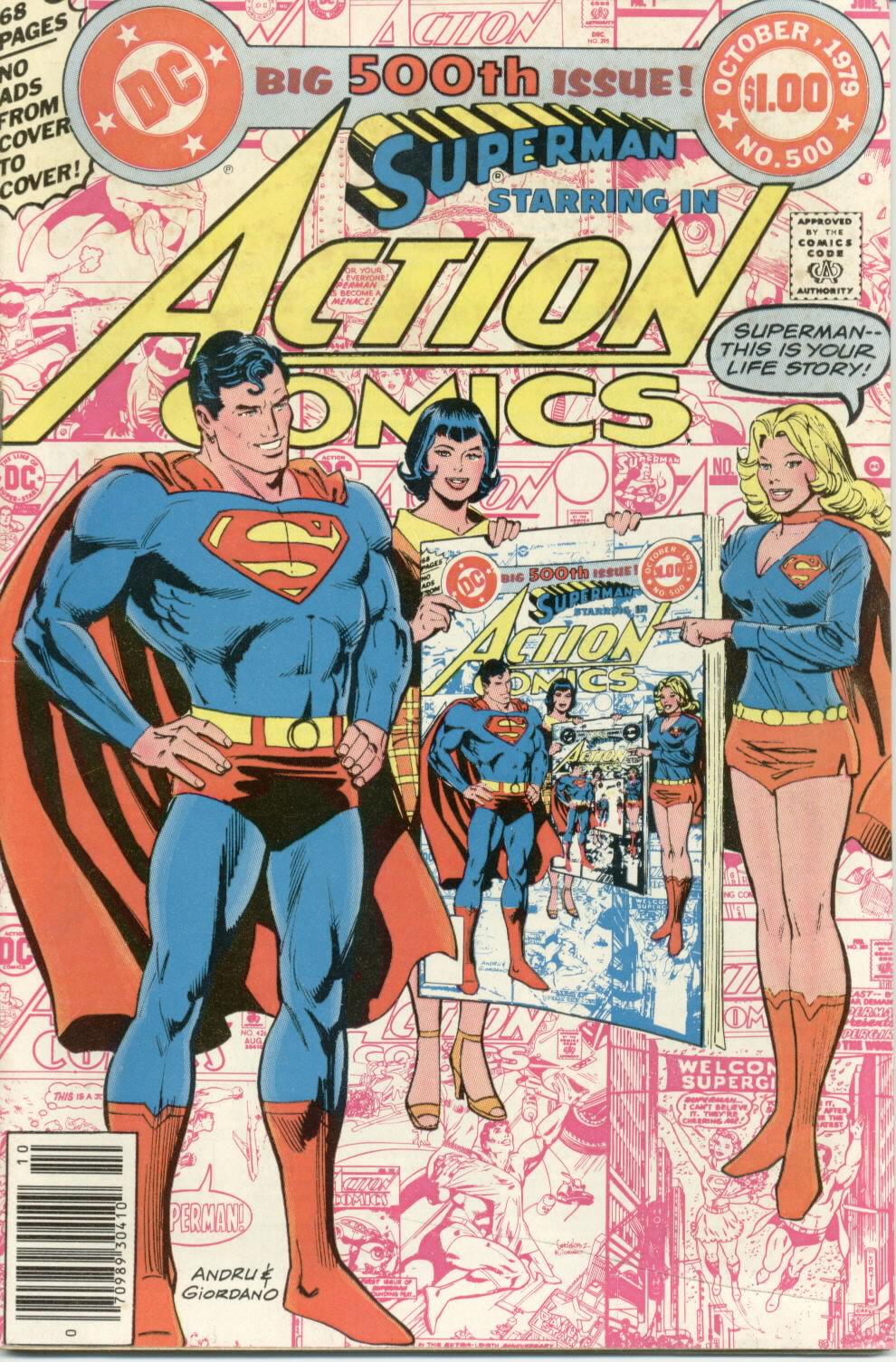 Action Comics (1938) 500 Page 1