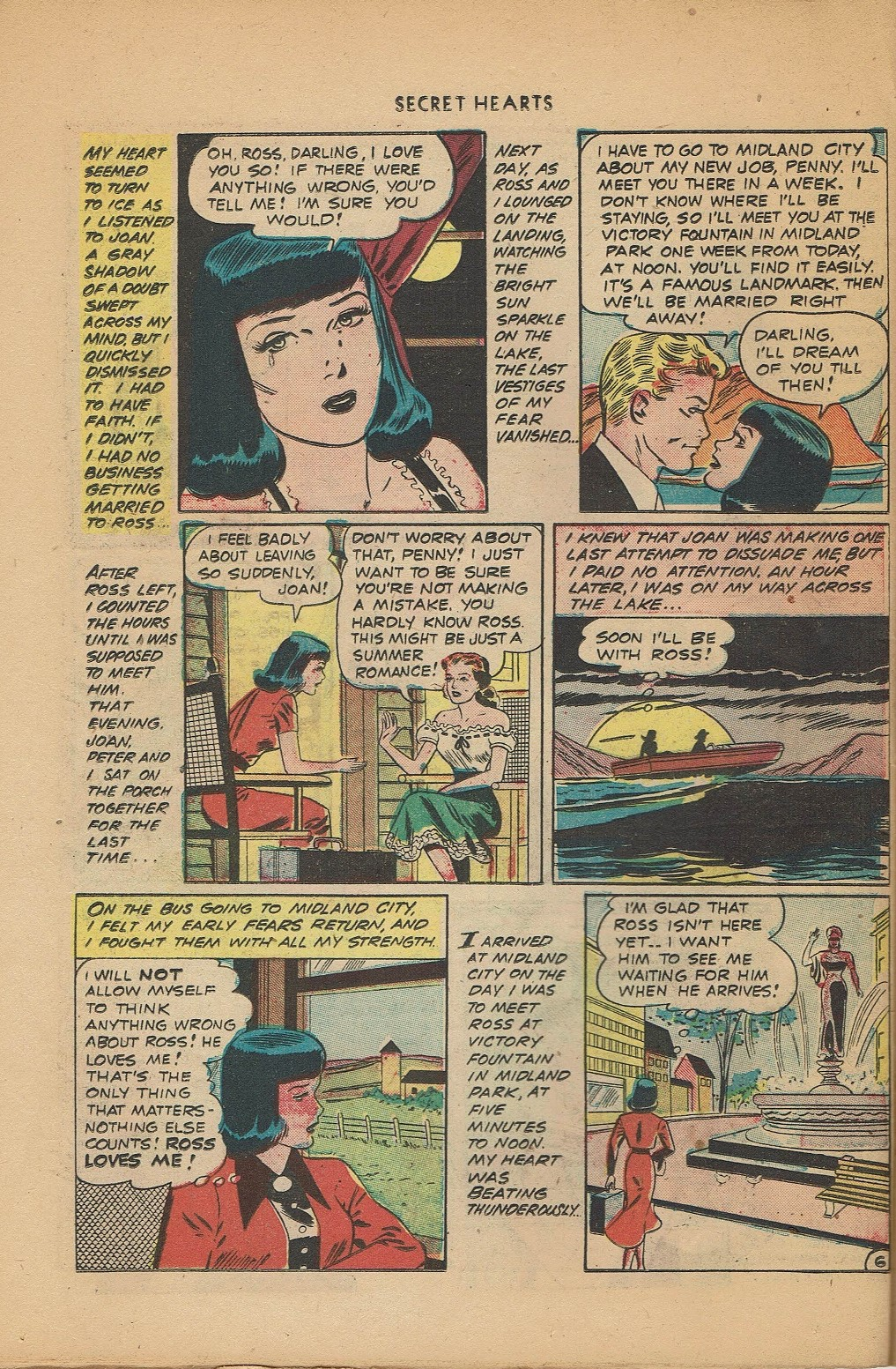 Read online Secret Hearts comic -  Issue #2 - 30