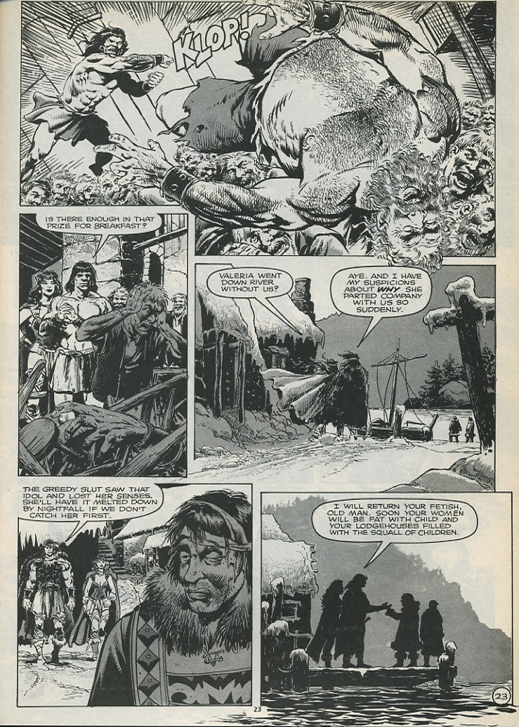 The Savage Sword Of Conan Issue #179 #180 - English 25
