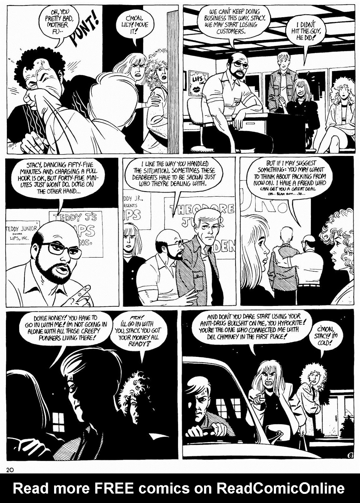 Love and Rockets (1982) Issue #31 #29 - English 22