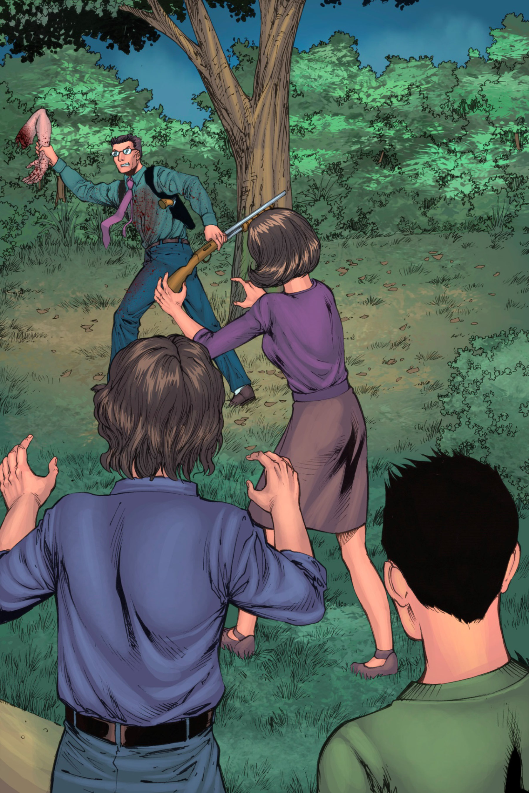Read online Z-Men comic -  Issue #3 - 134