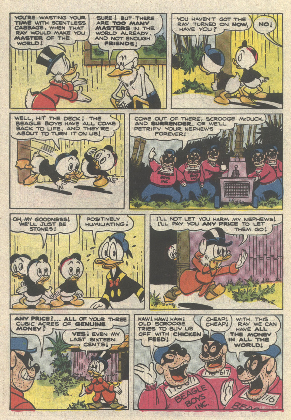 Uncle Scrooge (1953) Issue #222 #222 - English 30