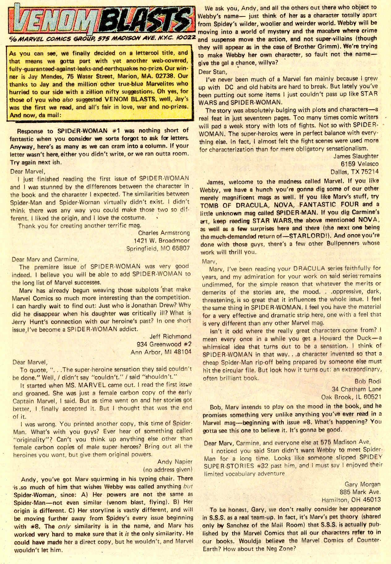 Spider-Woman (1978) #5 #46 - English 20