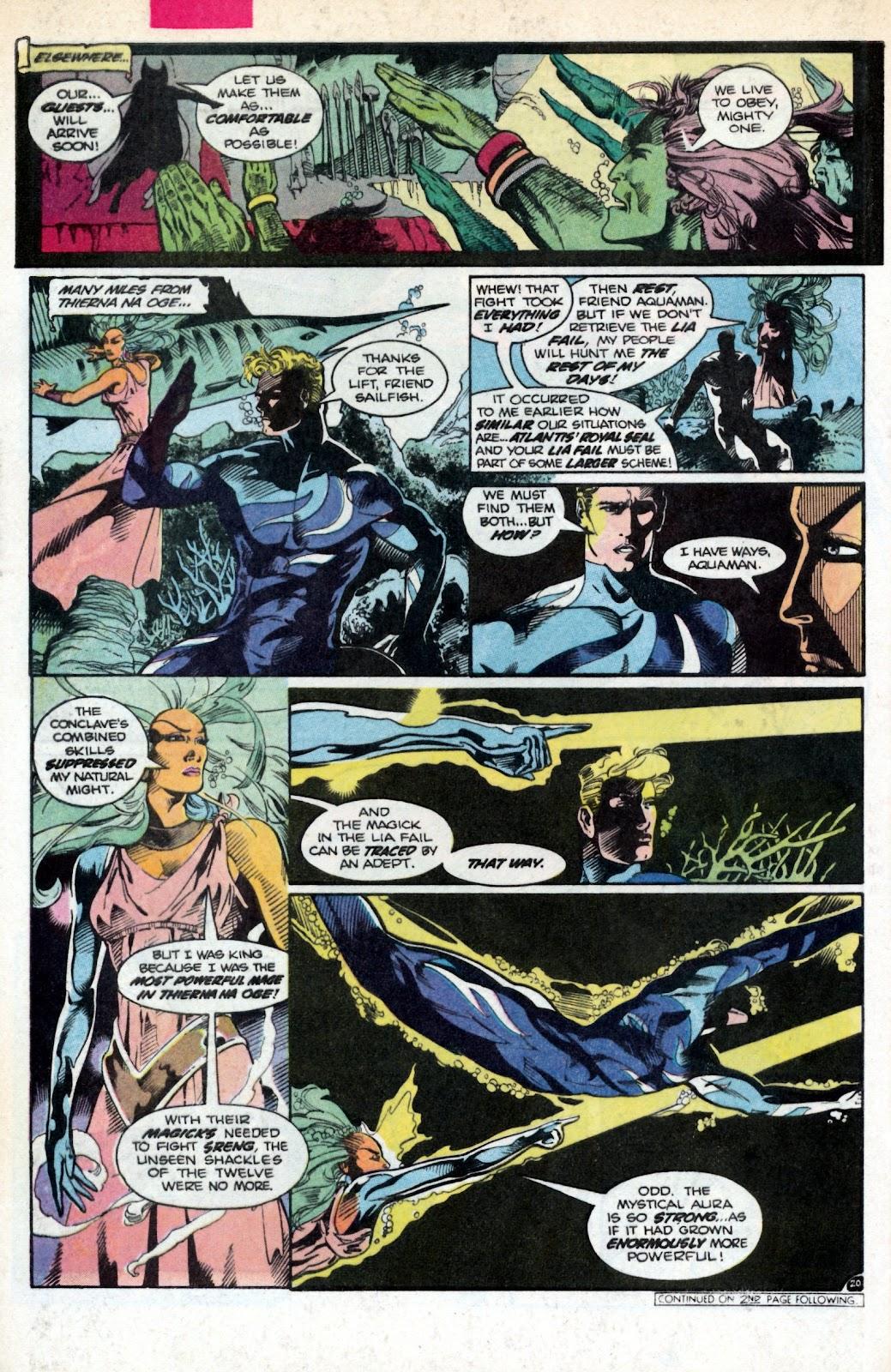 Aquaman (1986) Issue #2 #2 - English 28