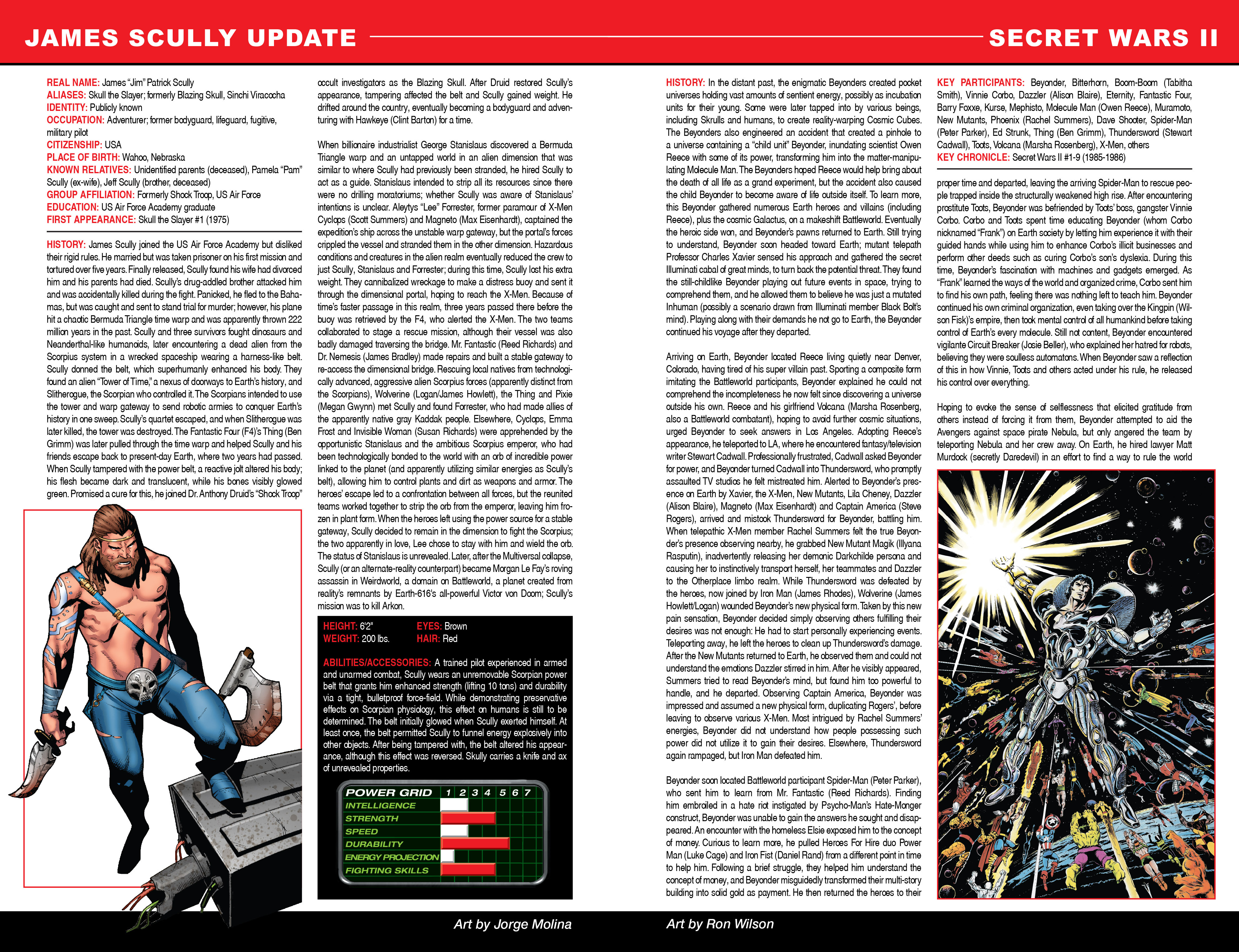 Read online Secret Wars: Official Guide to the Marvel Multiverse comic -  Issue # Full - 18
