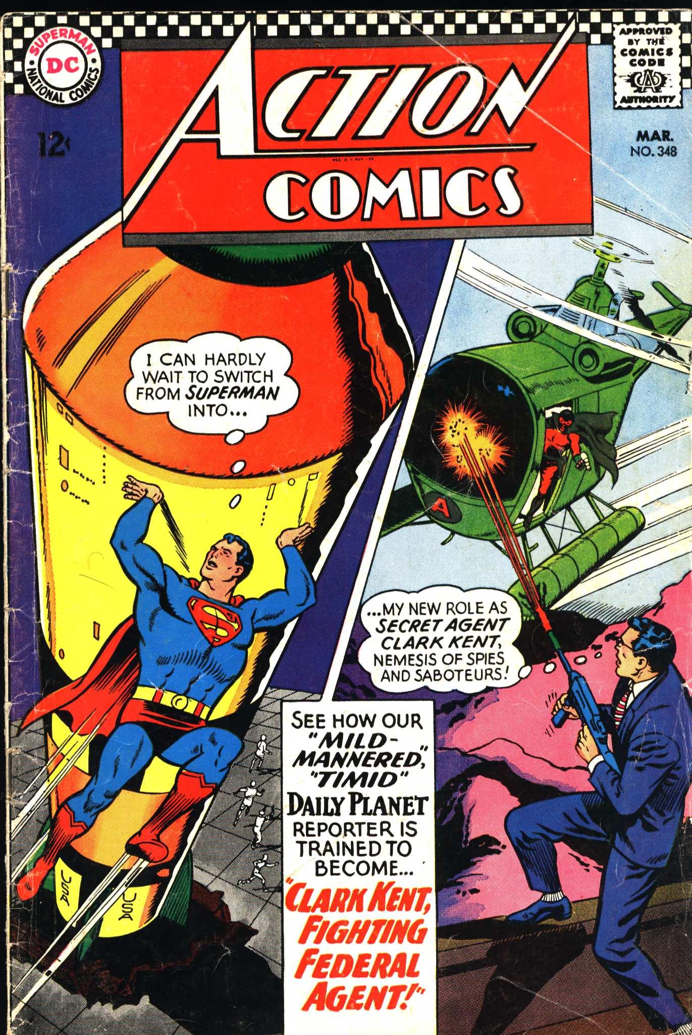Action Comics (1938) 348 Page 1