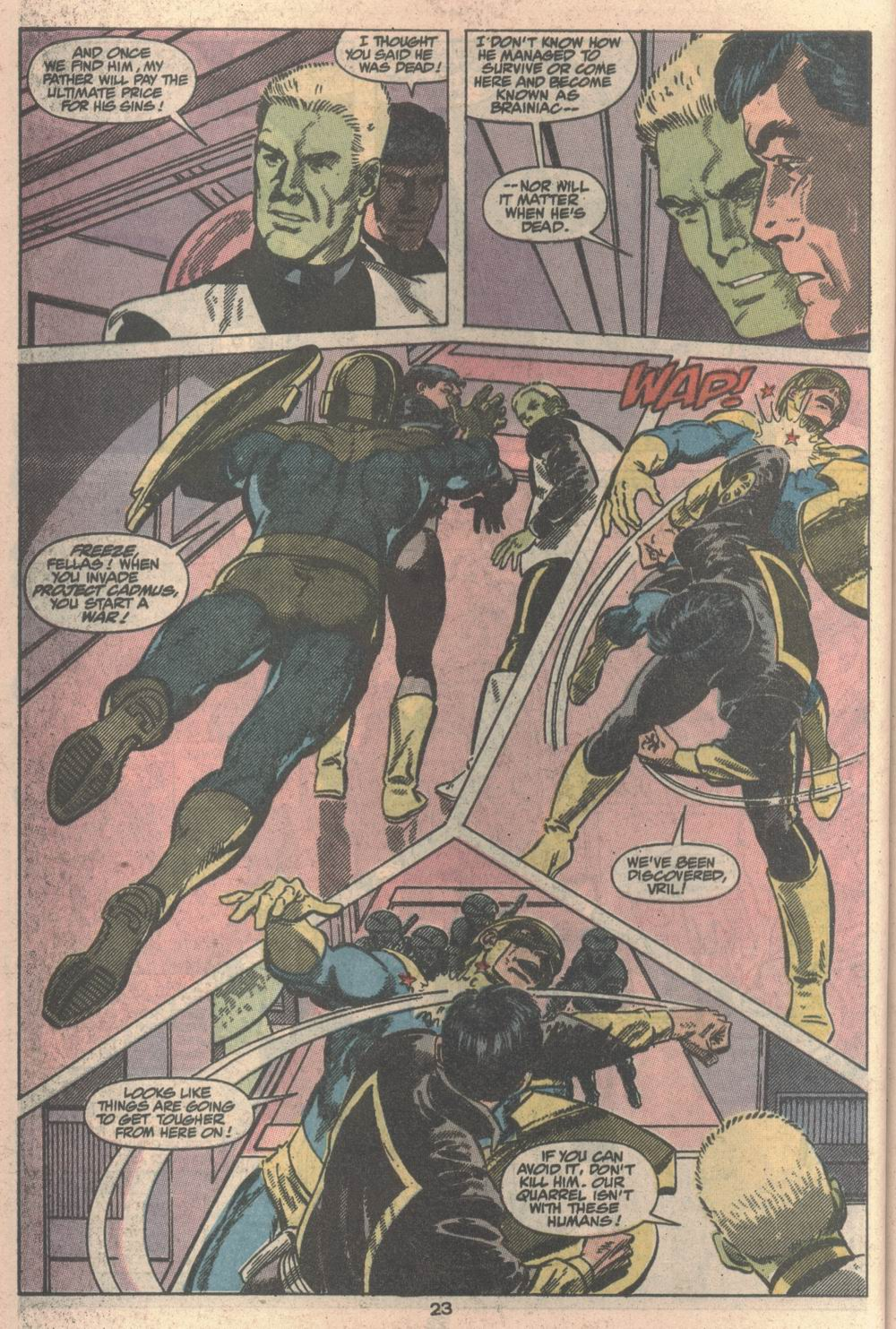 Adventures of Superman (1987) _Annual_2 Page 22