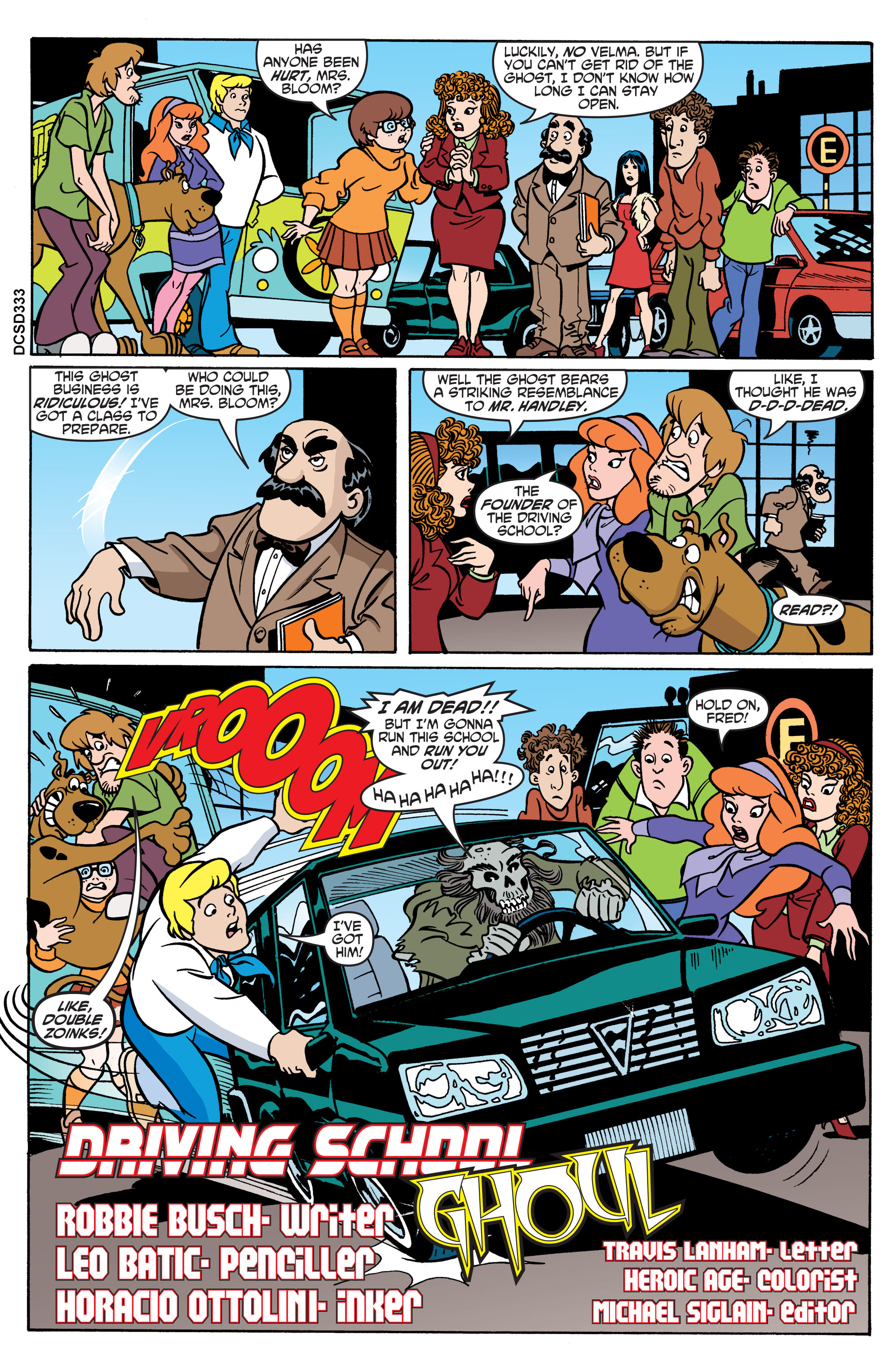 Read online Scooby-Doo: Where Are You? comic -  Issue #70 - 12