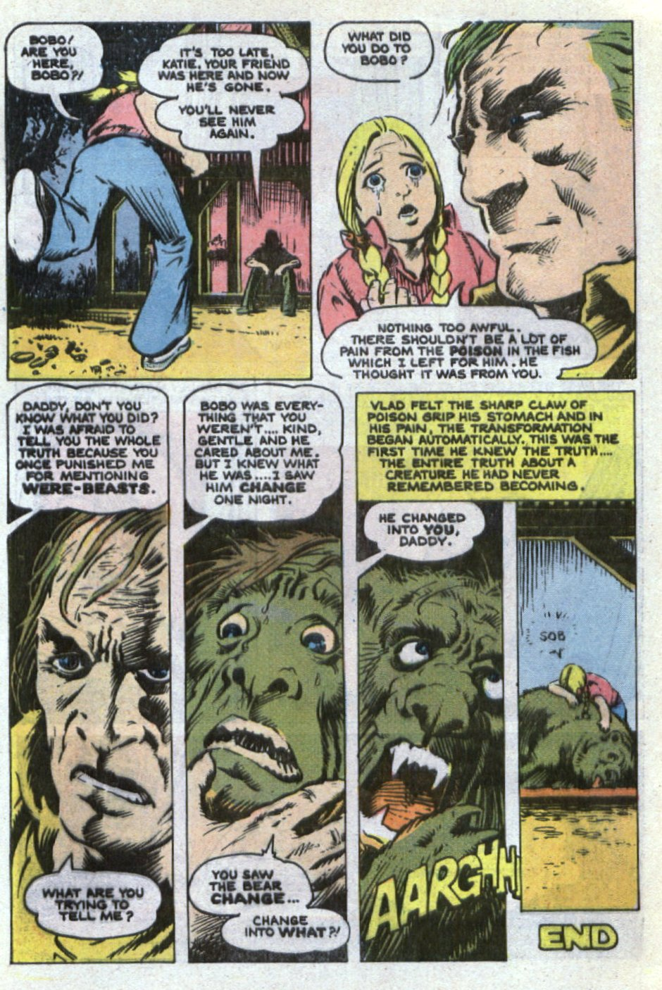 Read online Scary Tales comic -  Issue #21 - 32