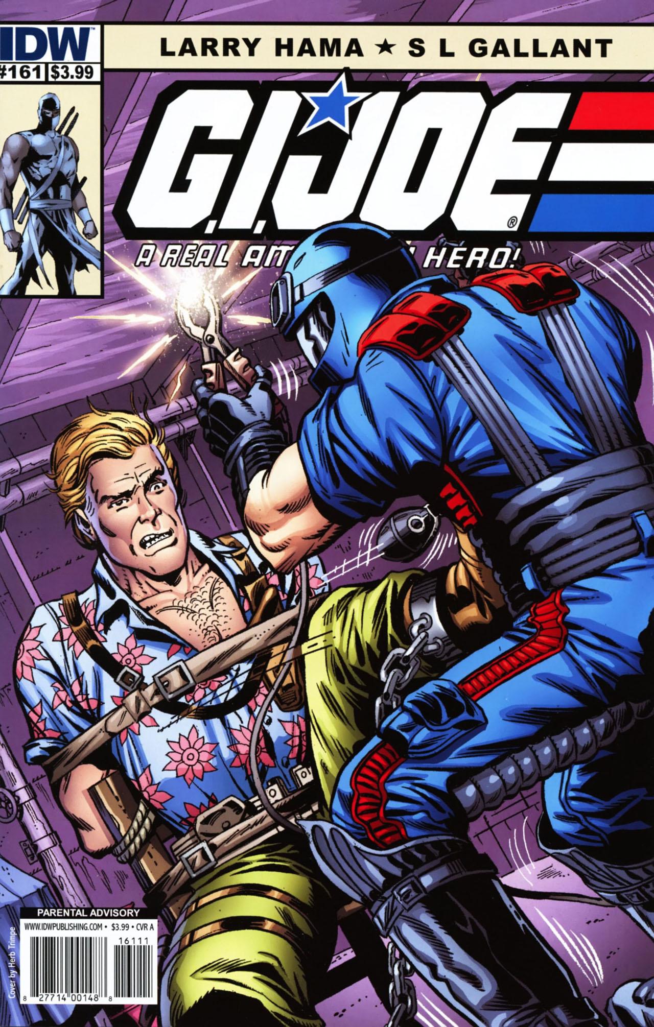 G.I. Joe: A Real American Hero 161 Page 1