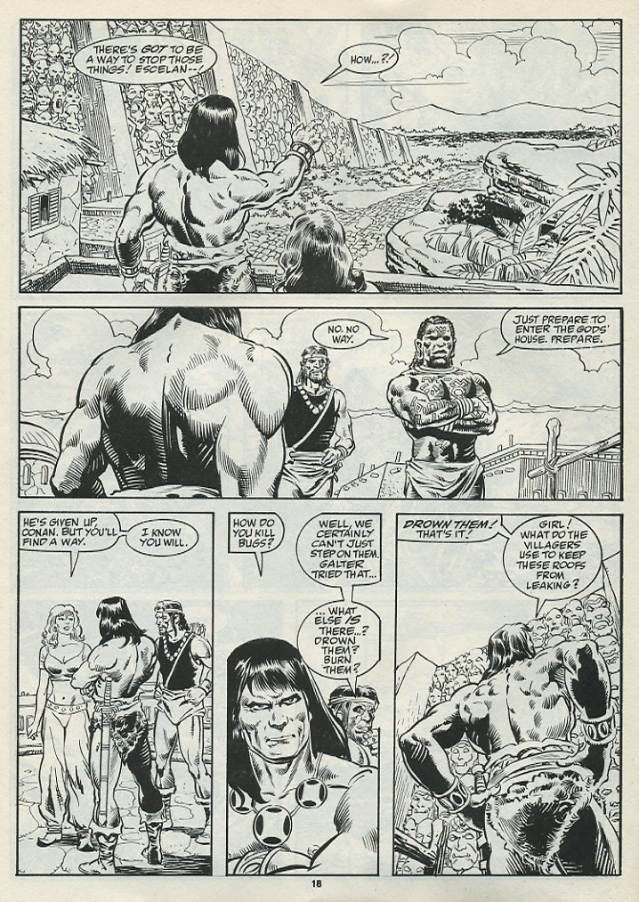 The Savage Sword Of Conan Issue #182 #183 - English 20