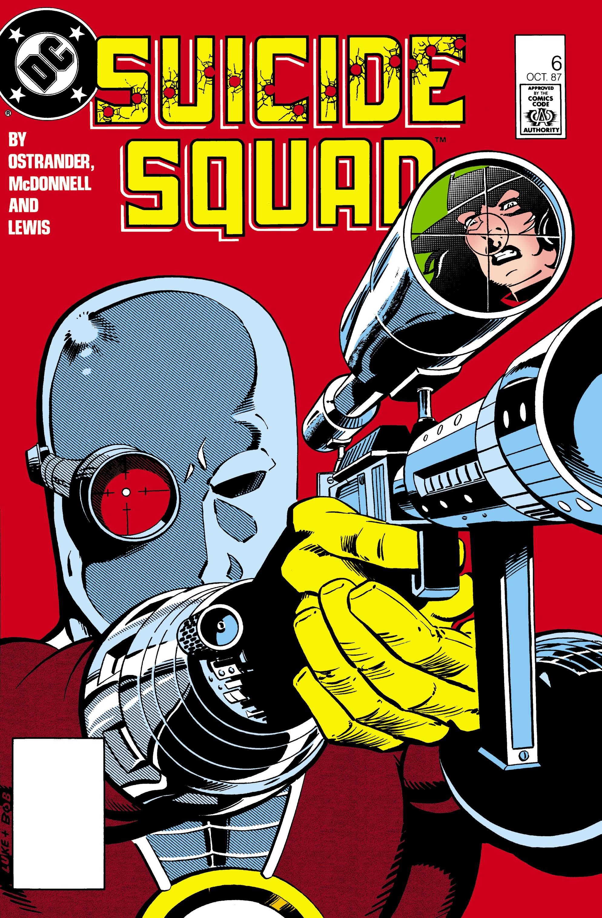 Suicide Squad (1987) 6 Page 1