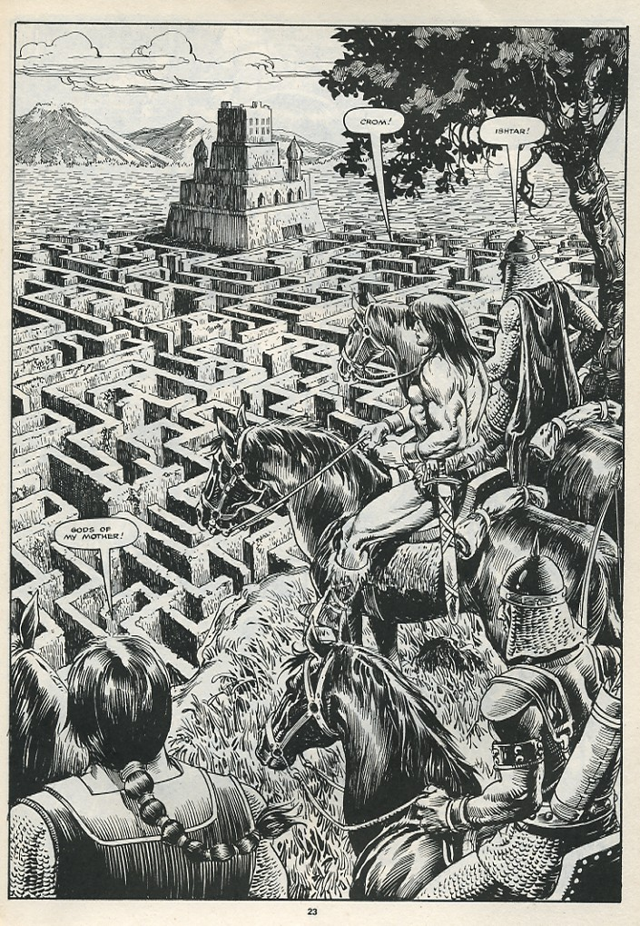 The Savage Sword Of Conan Issue #174 #175 - English 25