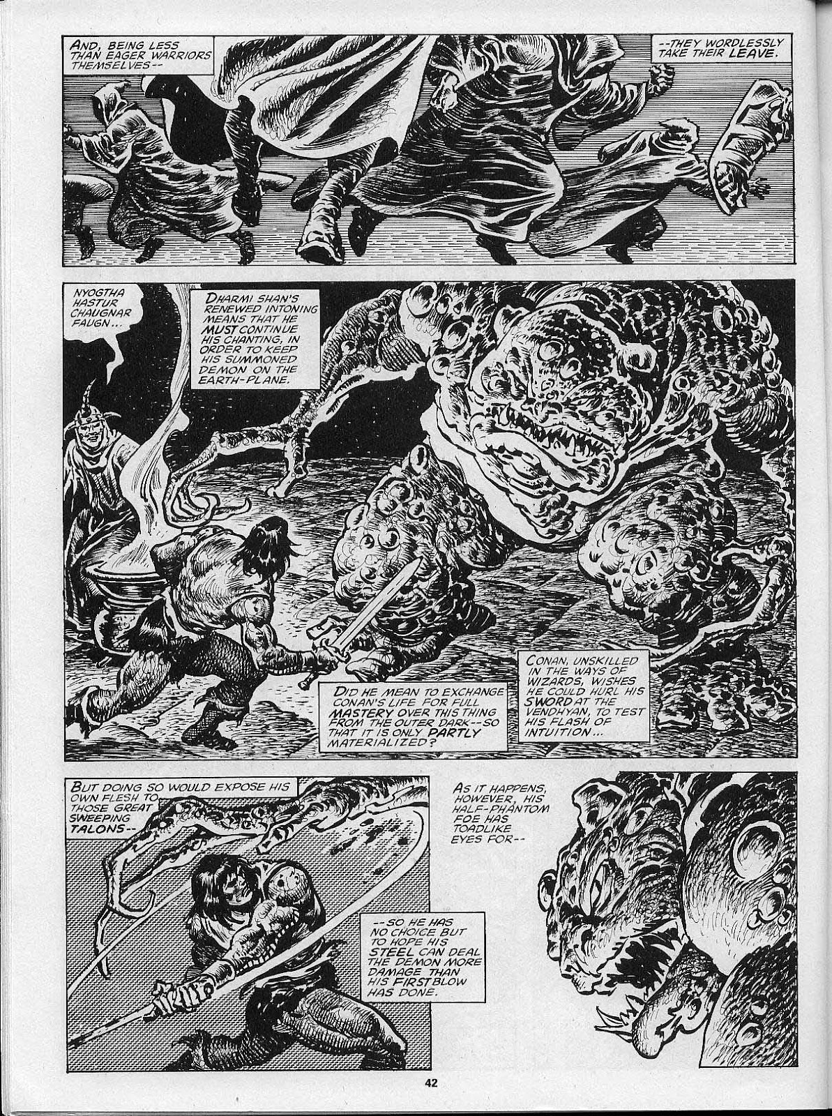 The Savage Sword Of Conan Issue #200 #201 - English 44