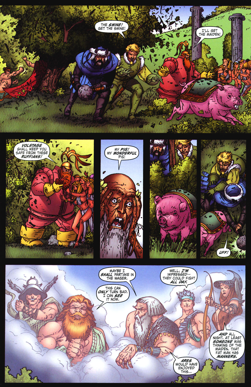 Read online Thor: Blood Oath comic -  Issue #3 - 10