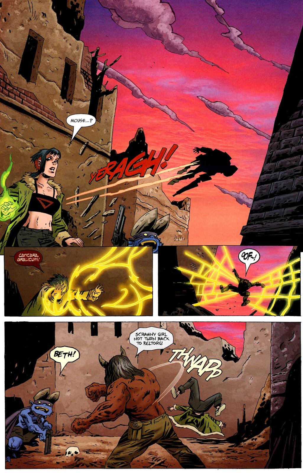 Strange Girl Issue #16 #17 - English 9