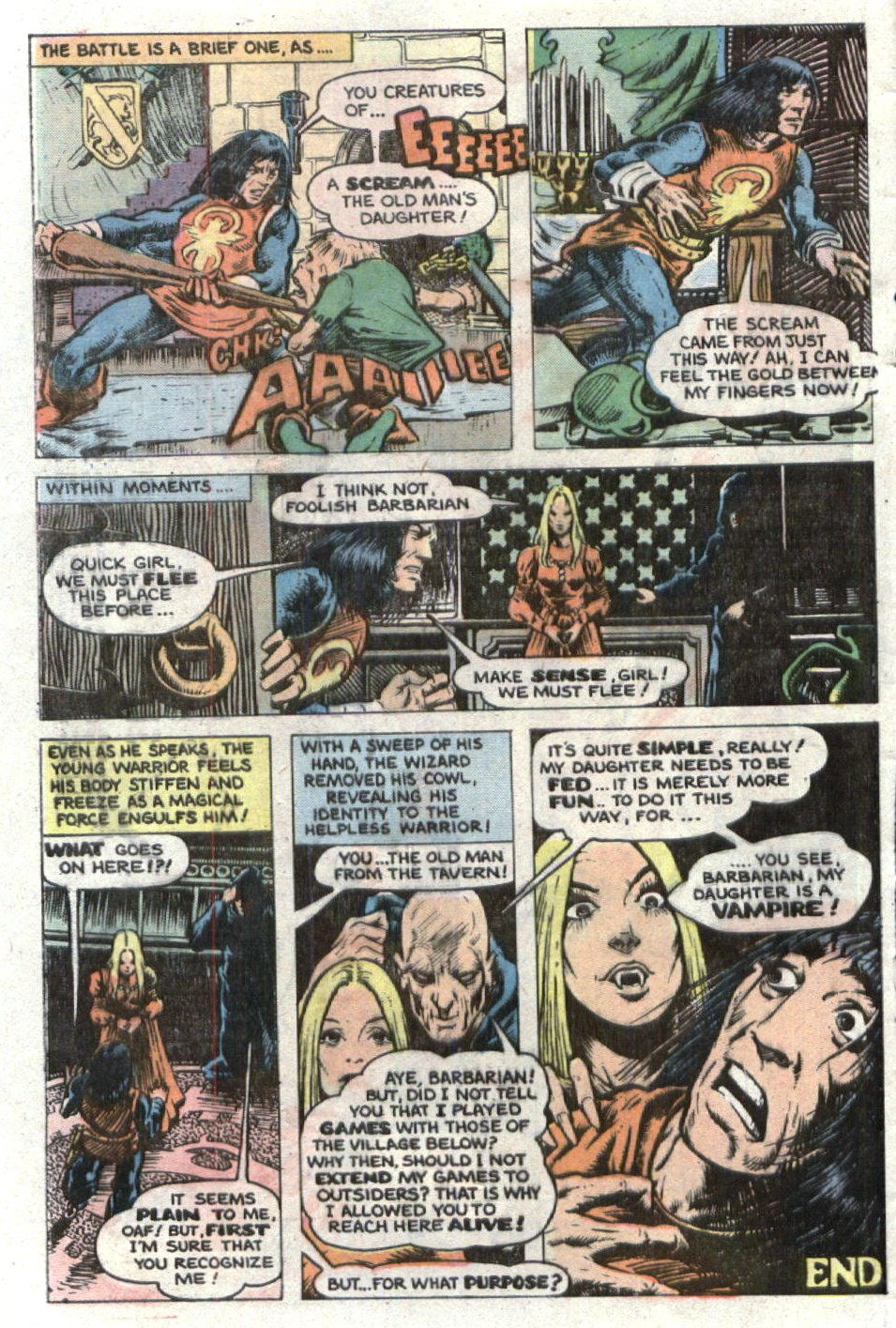 Read online Scary Tales comic -  Issue #24 - 8