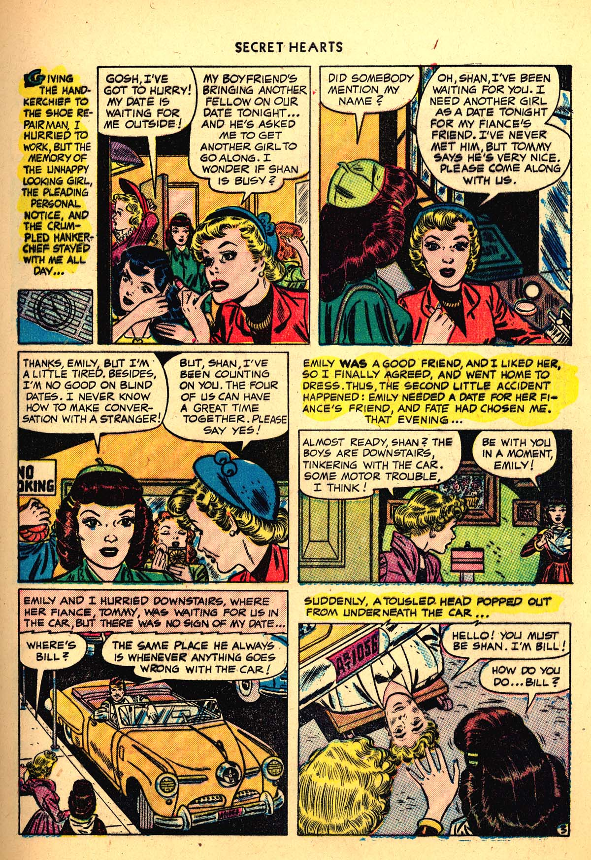 Read online Secret Hearts comic -  Issue #4 - 5