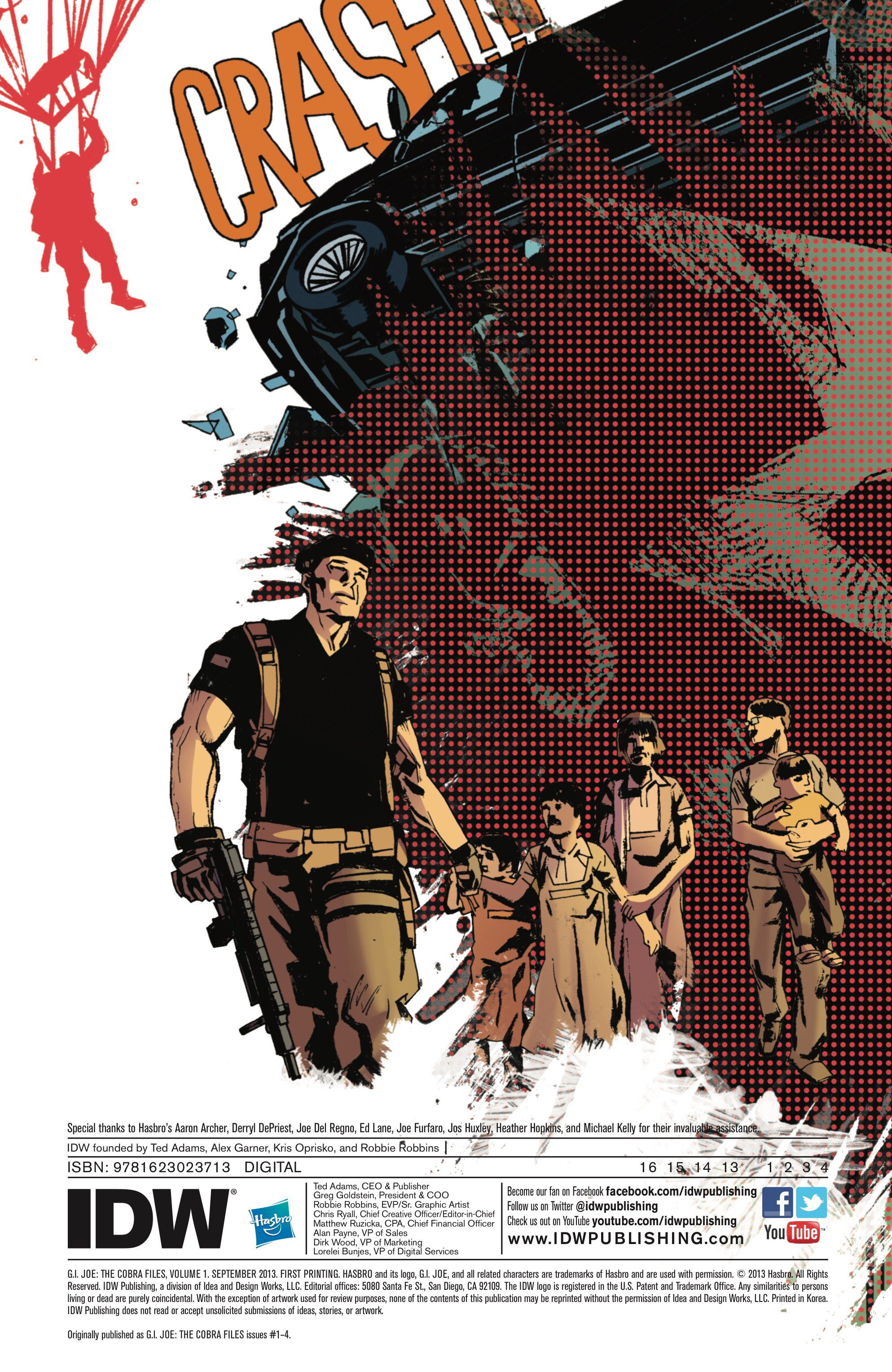 Read online G.I. Joe: The Cobra Files comic -  Issue # TPB 1 - 3