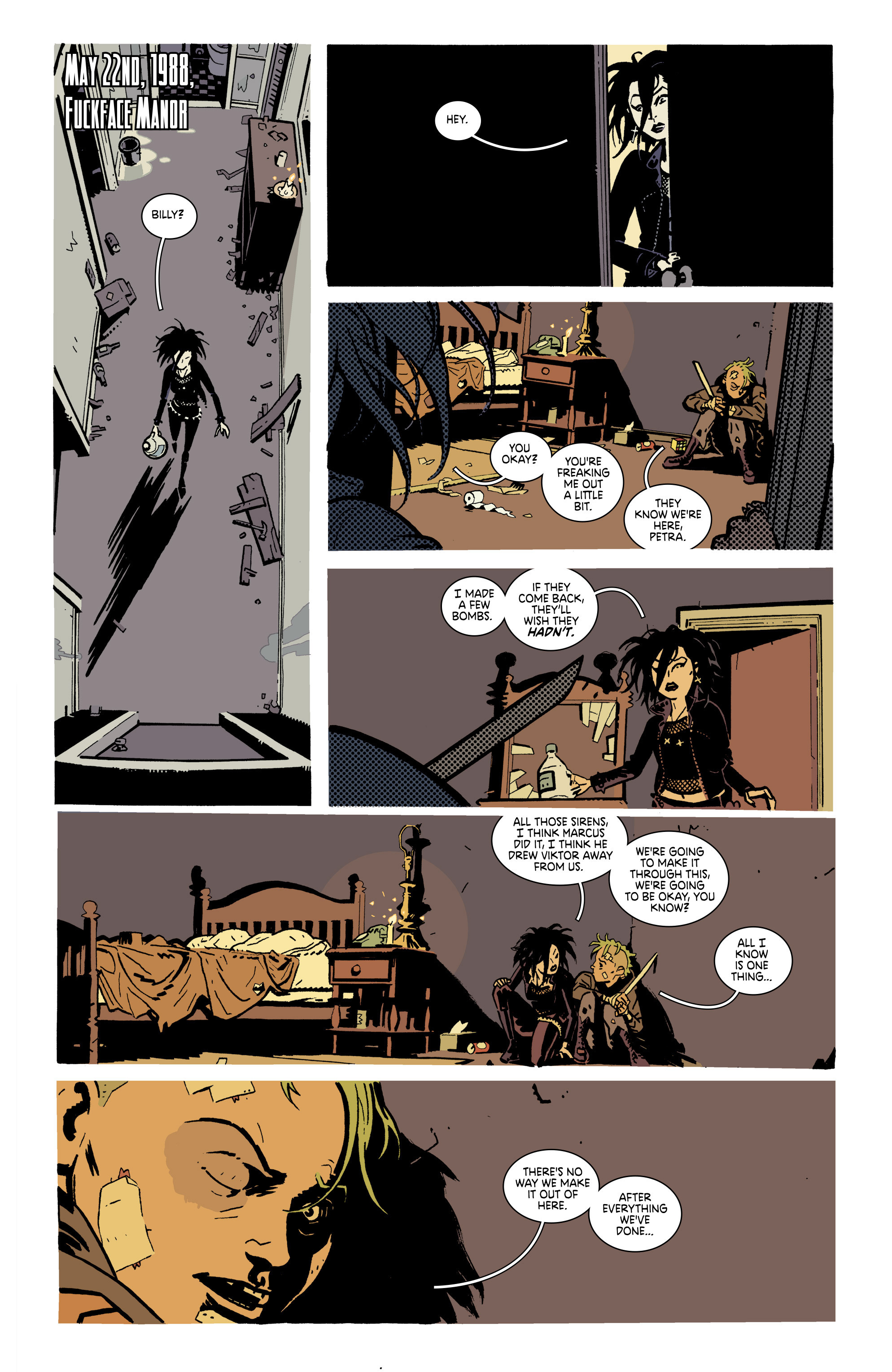 Read online Deadly Class comic -  Issue #21 - 3