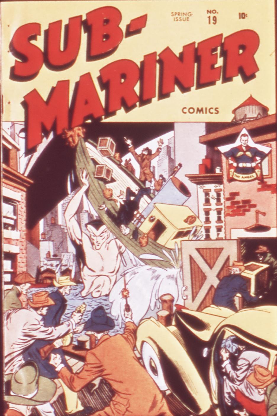 Sub-Mariner Comics 19 Page 1