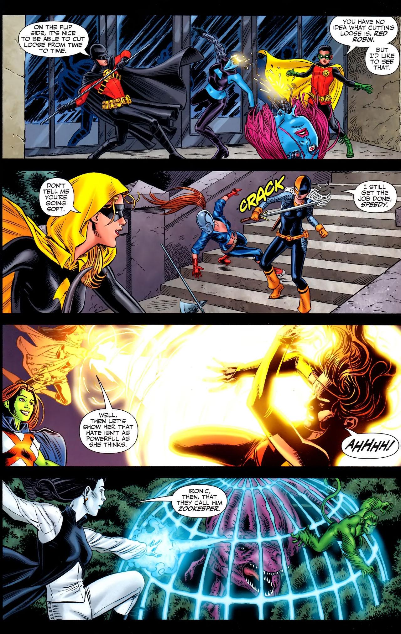 Teen Titans (2003) #100 #110 - English 7