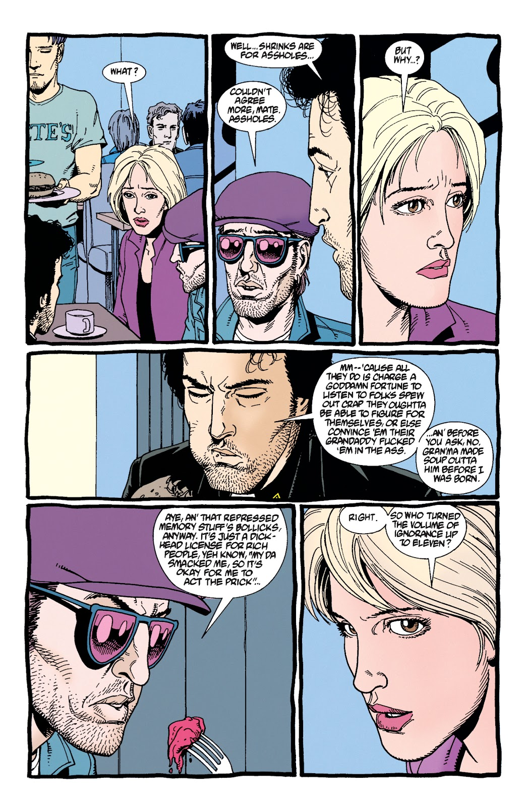 Preacher Issue #29 #38 - English 8