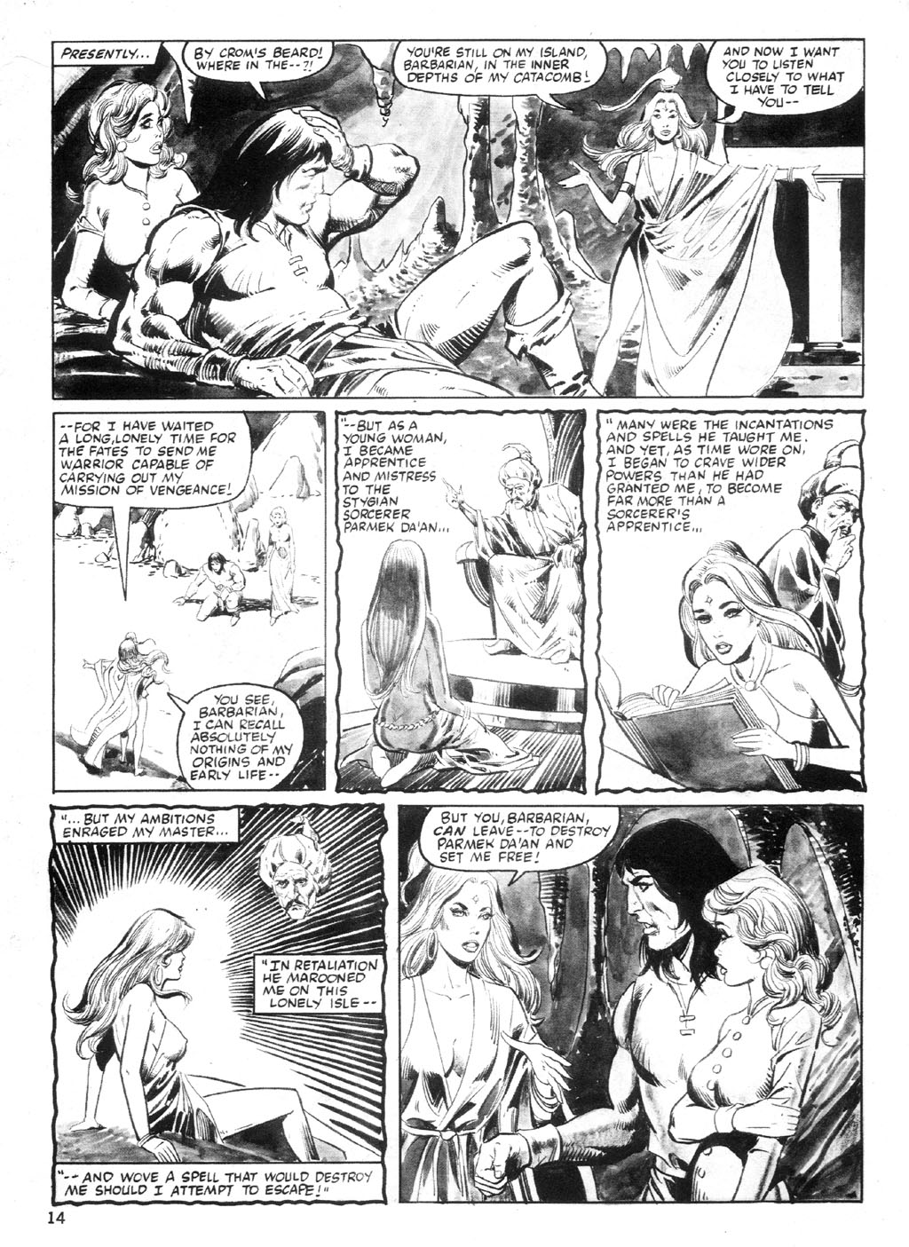The Savage Sword Of Conan Issue #94 #95 - English 13