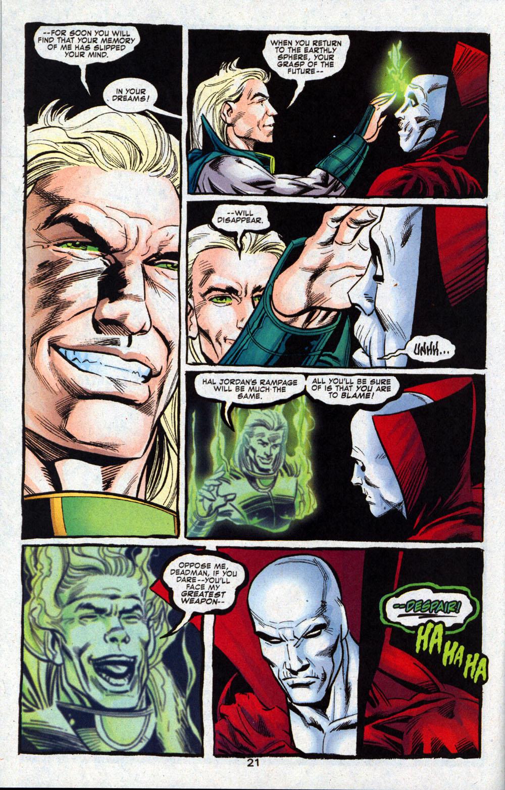Read online Deadman: Dead Again comic -  Issue #4 - 22