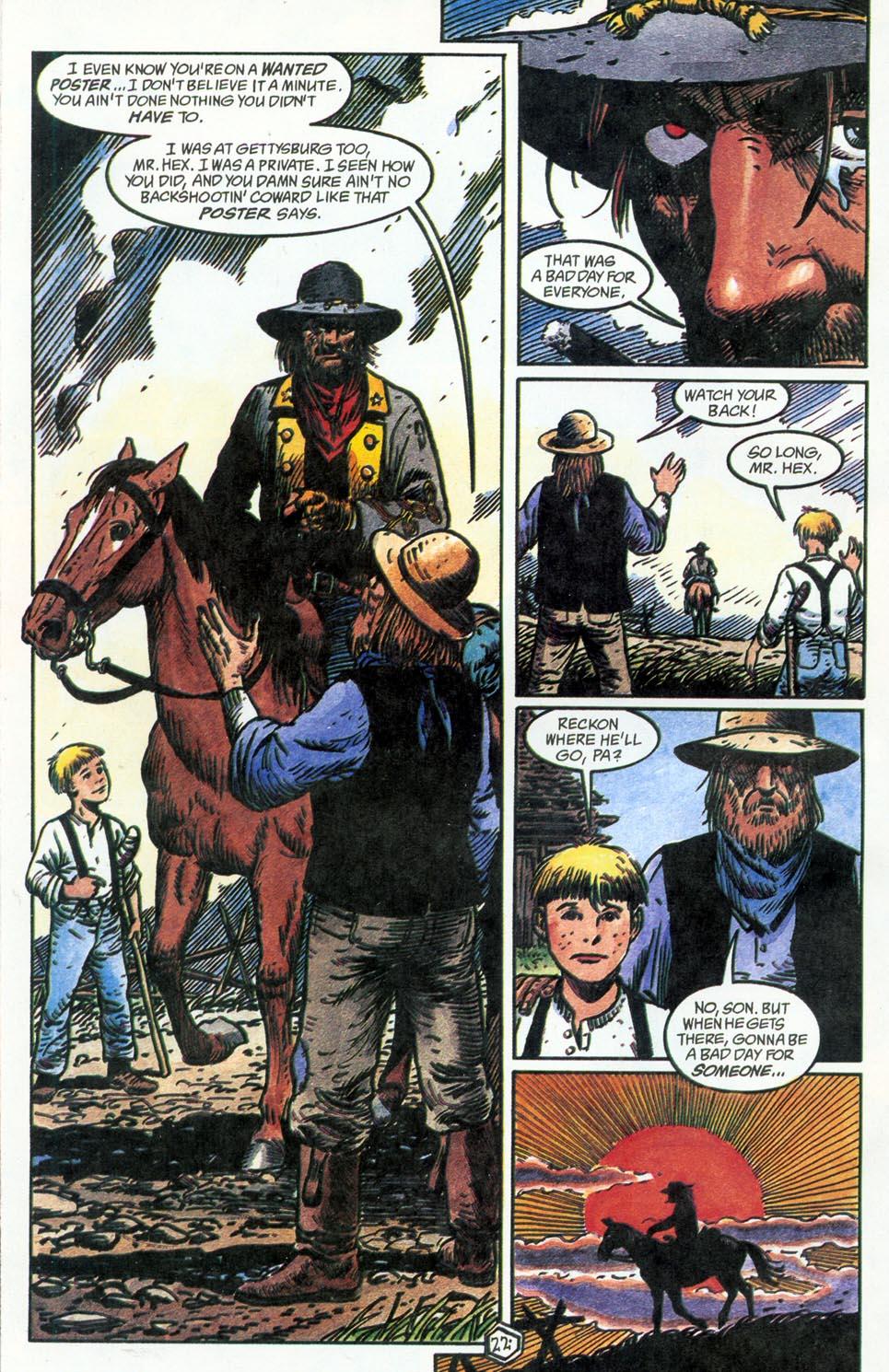 Jonah Hex: Two-Gun Mojo Issue #4 #4 - English 24