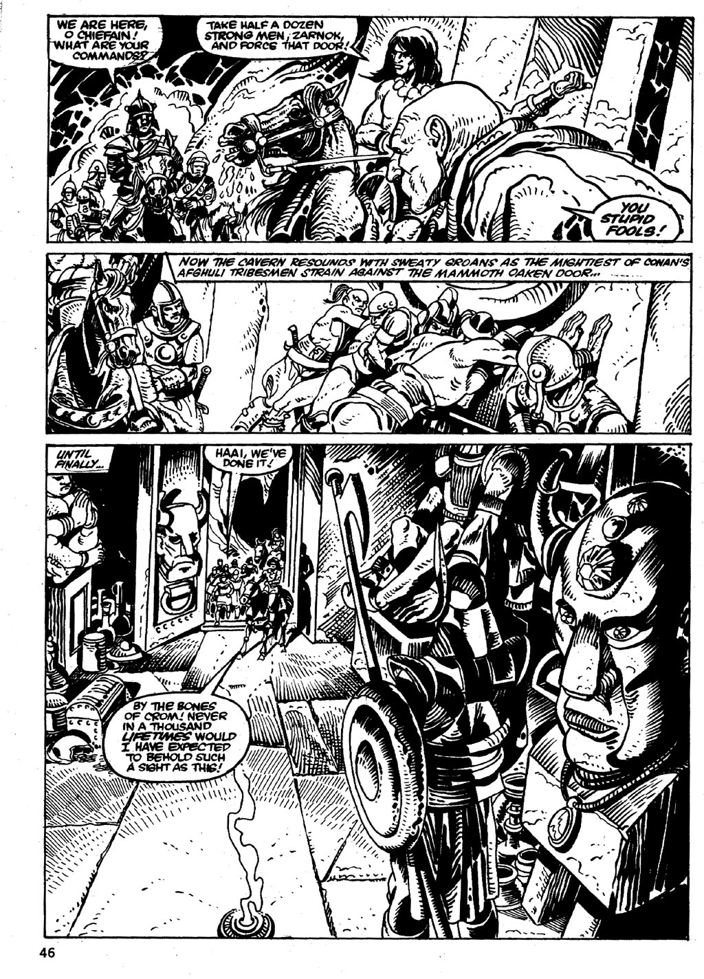 The Savage Sword Of Conan Issue #86 #87 - English 46