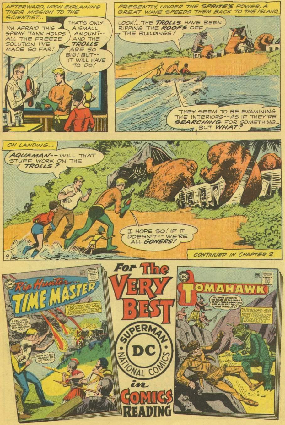 Aquaman (1962) Issue #1 #1 - English 11
