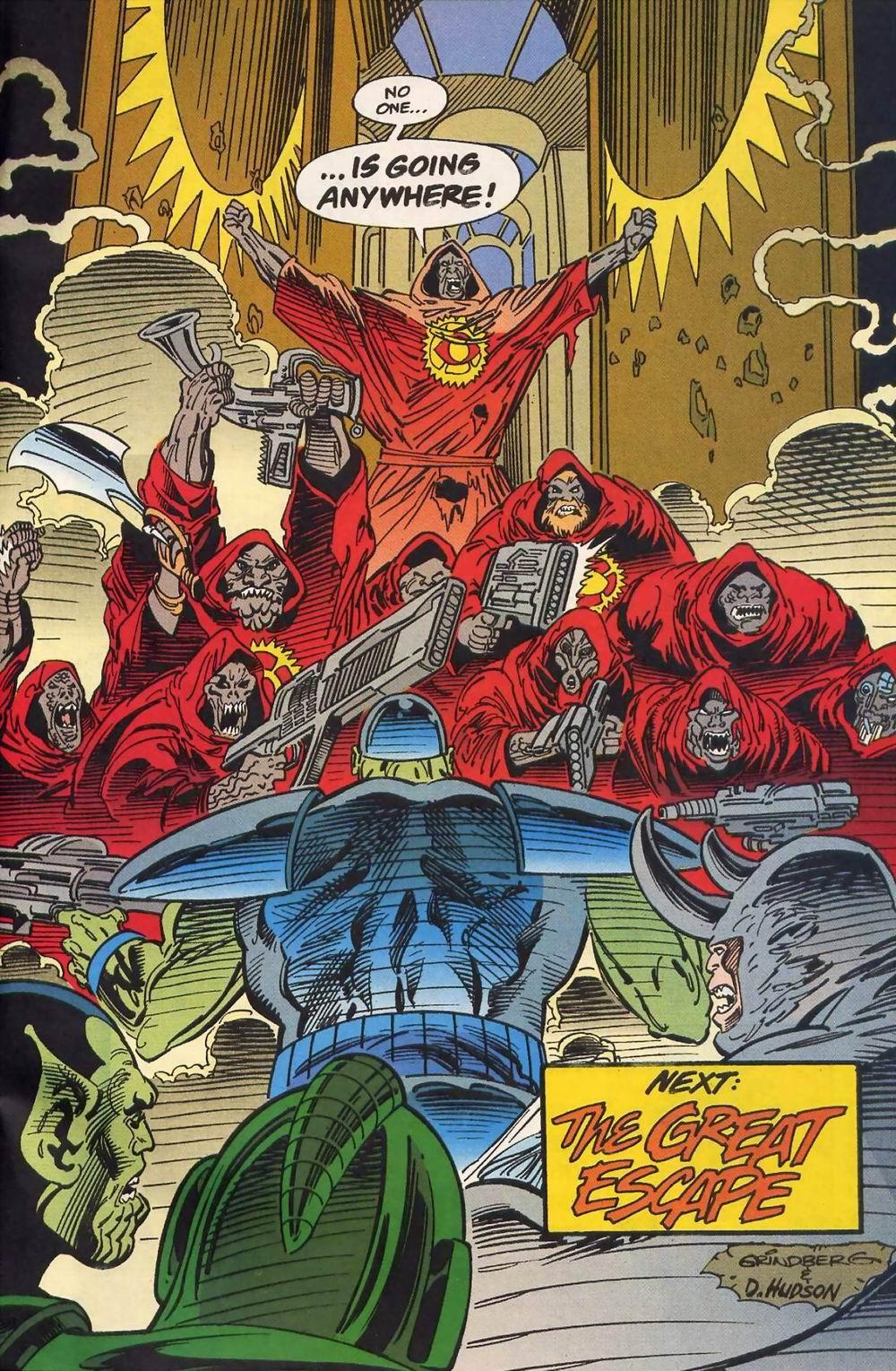 Read online Secret Defenders comic -  Issue #13 - 23
